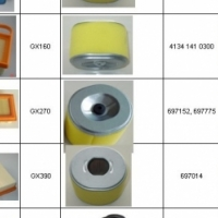 AIR FILTERS FOR LAWNMOWERS