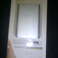 Proline PV-5000 5000mAh Power Bank 2.1a Micro USB - PV-5000