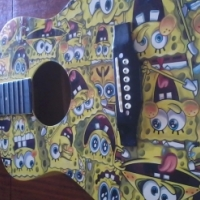 Spongebob guitar