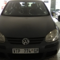 VW Golf 5 2.0 Engine 2008 Model, 5 Doors, Leather Interior, Factory A/C, C/D Player, Central Locking