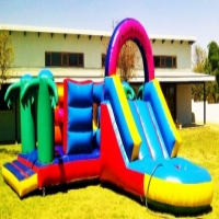 Party hire: Popcorn, candy floss machines and Jumping castles for hire
