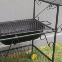 unique designed trolley braai