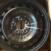 "Mercedes Benz Vito 16"" Steel Rims"