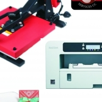 Ink Jet T Shirt Printing System with Portrait Vinyl Cutter