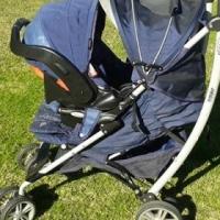 Graco Travel System - Pram & Infant Car Seat.