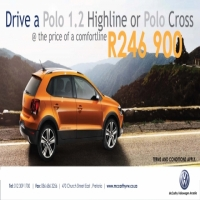 Drive a new Polo 1.2 or Polo Cross