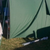 six man canvas tent