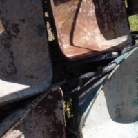 Wheel barrows in fair condition at reduced price