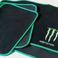 universal monster 4 piece car mats