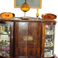 Ball and Claw (Antique) Radiogram Cabinet