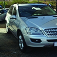 2007 Mercedes Benz ML 500 on auction this Saturday