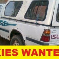 Bakkies wanted urgently