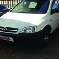 2006 Opel Corsa Bakkie on Auction this Saterday
