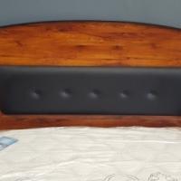 Beautiful Samantha 2 Piece Bedroom Suite - Walnut for Sale