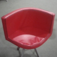 24 CHAIRS FOR SALE (RED & BLACK)