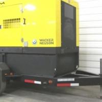 2014 Wacker Nueson 240 KVA Generator 60 Hertz 00 Hrs