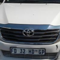 Toyota Hilux Bakkie 2012