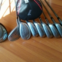 Ladies Adams Golf clubs, used for sale  East Rand