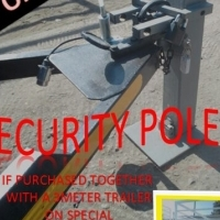 Security Poles for trailers