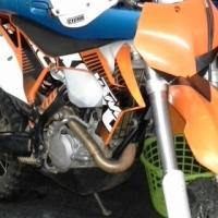 Scrambler KTM 500 XC-W Dirt bike bargain