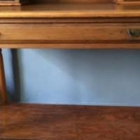 Oregon Pine dresser table for sale