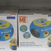 Despicable me CD Player