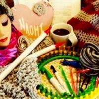 Crochet, knit, tunisian crochet, finger knitting, arm knitting, loom knitting workshop