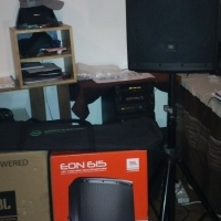 "2 JBL EON-615 15"" L/Speaker System with 2 K&M Speaker Stands. for sale  Stellenbosch"