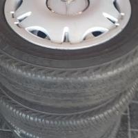 Set original 16 inch Vito Steel rims with Tyres
