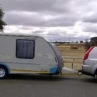 Sprite swing caravan - De Aar, Noordkaap
