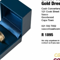 Used, Ladies 9ct Yellow Gold Dress Ring for sale  Northern Suburbs