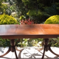 Solid Mahogany 6/8 Seater Dining table From Ligne
