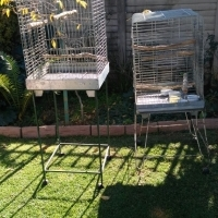 large parrot cages with stands
