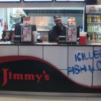R450, 000 for Jimmy's Killer Fish and Chips Franchise in Southgate Food Court.