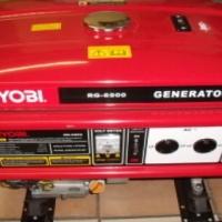 Like New only 3 months old RYOBI Petrol Generator RG6900K 4 STROKE 6900 WATT with Key Start for sale