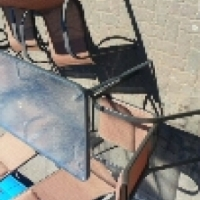 Patio set 6 chairs for sale