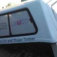 Chev utility canopy
