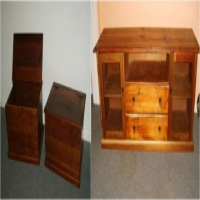 A restoration business that brings new life to old furniture on your doorstep.