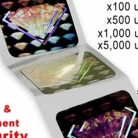 Secure your event tickets :: Hologram Stickers -Special Prices for Jul/Aug 2016 only