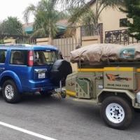 2012 Challenger 4x4 trailer