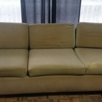 3 Seater Beige Couch for sale