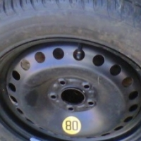 RIMS TYRES AND SPARE WHEEL FOR SALE
