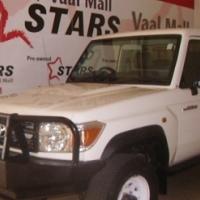 2012 Toyota Land Cruiser 79 4.2D s/c bakkie