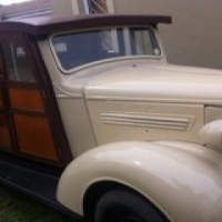1938 Chev 3/4 Ton Woody Truck