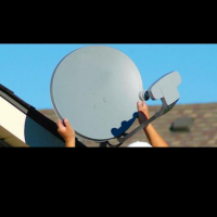 satellite dish setting