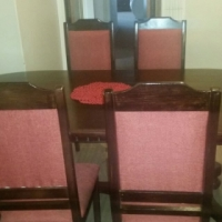 6 Seater Solid Wood Dining Room Suite