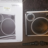 Leno Portable Sound System with Bluetooth