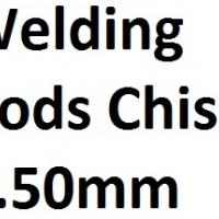 Welding Rods Chisa 2.50mm (1kg)