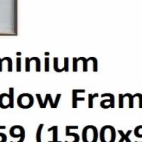 Aluminium Window Frame PT159 (1500x900)
