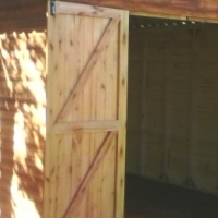 TOOLSHED 3 X 3 with DOUBLE DOORS